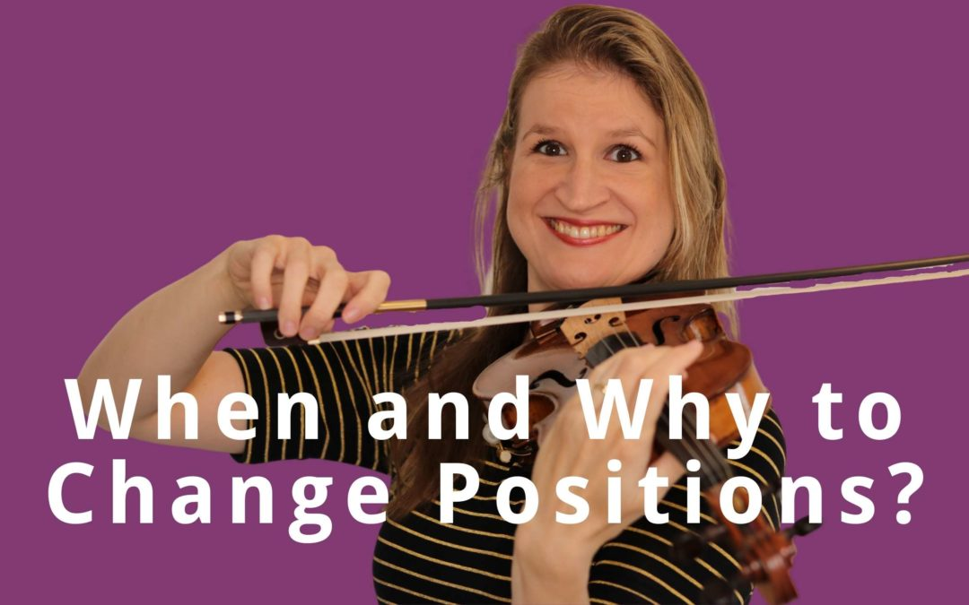 To Shift or NOT to Shift: How to know when to change positions on the violin? | Violin Lounge TV #383