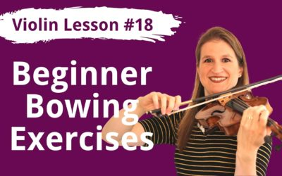 FREE Violin Lesson #18 Bowing Exercises for the G Major 2 Octave Scale