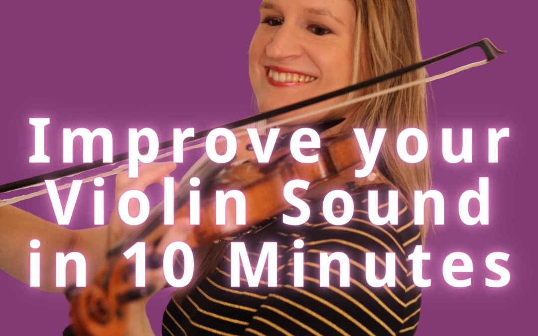12 Checks to Improve your Violin Sound Quality in 10 Minutes | Violin Lounge TV #403