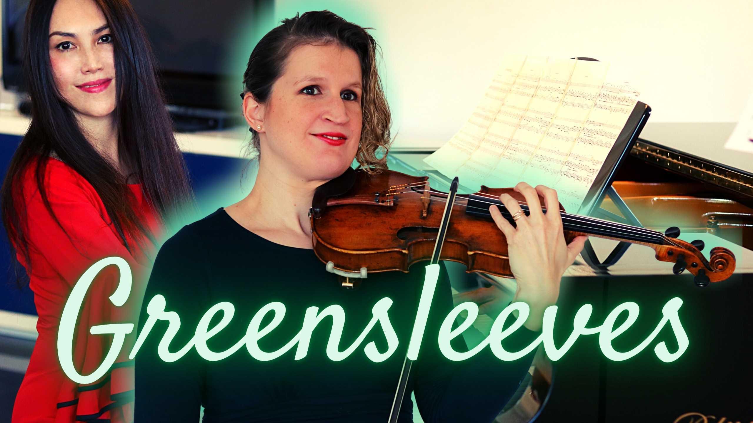 greensleeves violin piano