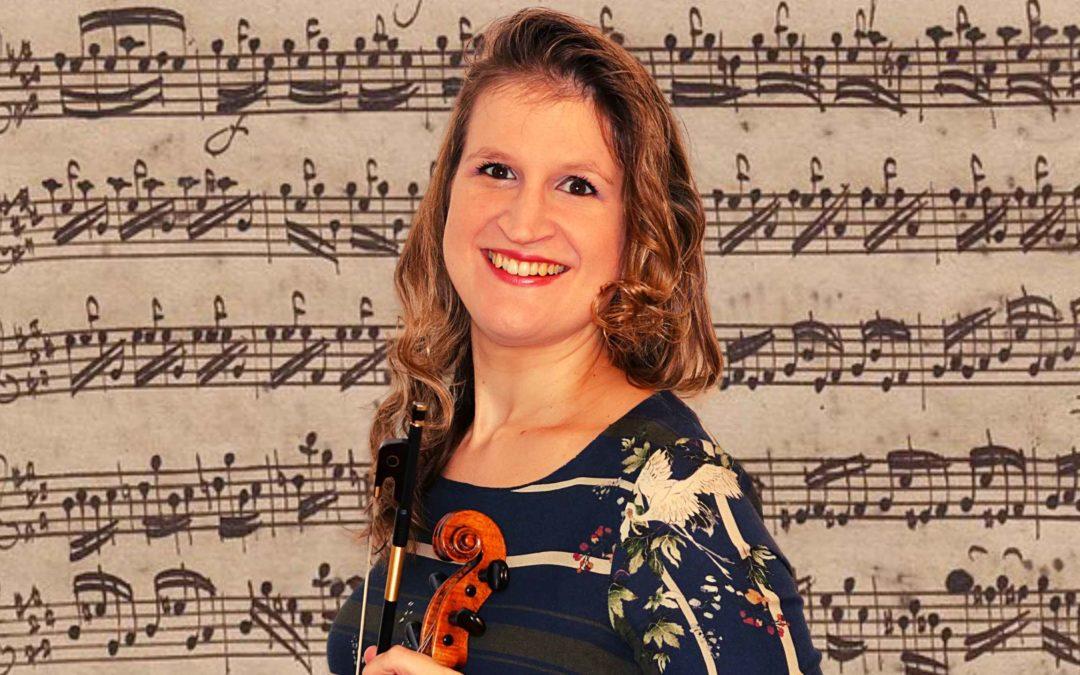 String Crossings in Preludio from Partita in E major by JS Bach BWV 1006   Violin Lounge TV #402