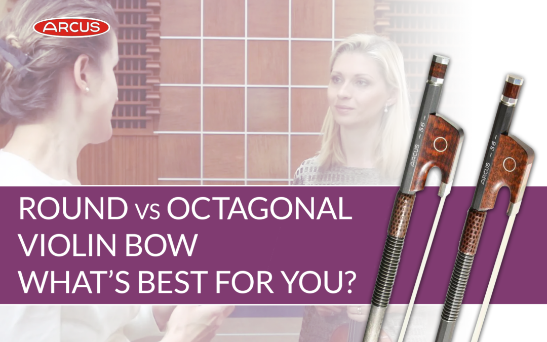 Round vs Octagonal Arcus Violin Bow Review | Violin Lounge TV #409