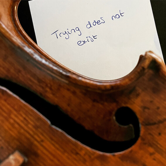 Trying to practice the violin daily? Do this instead!