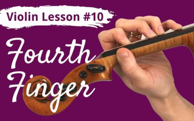 FREE Violin Lesson #10 for Beginners | FOURTH FINGER