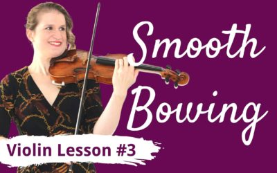 FREE Violin Lesson #3 for Beginners | SMOOTH BOWING