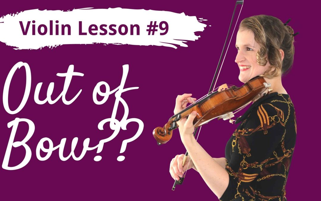 FREE Violin Lesson #9 for Beginners | BOW DIVISION
