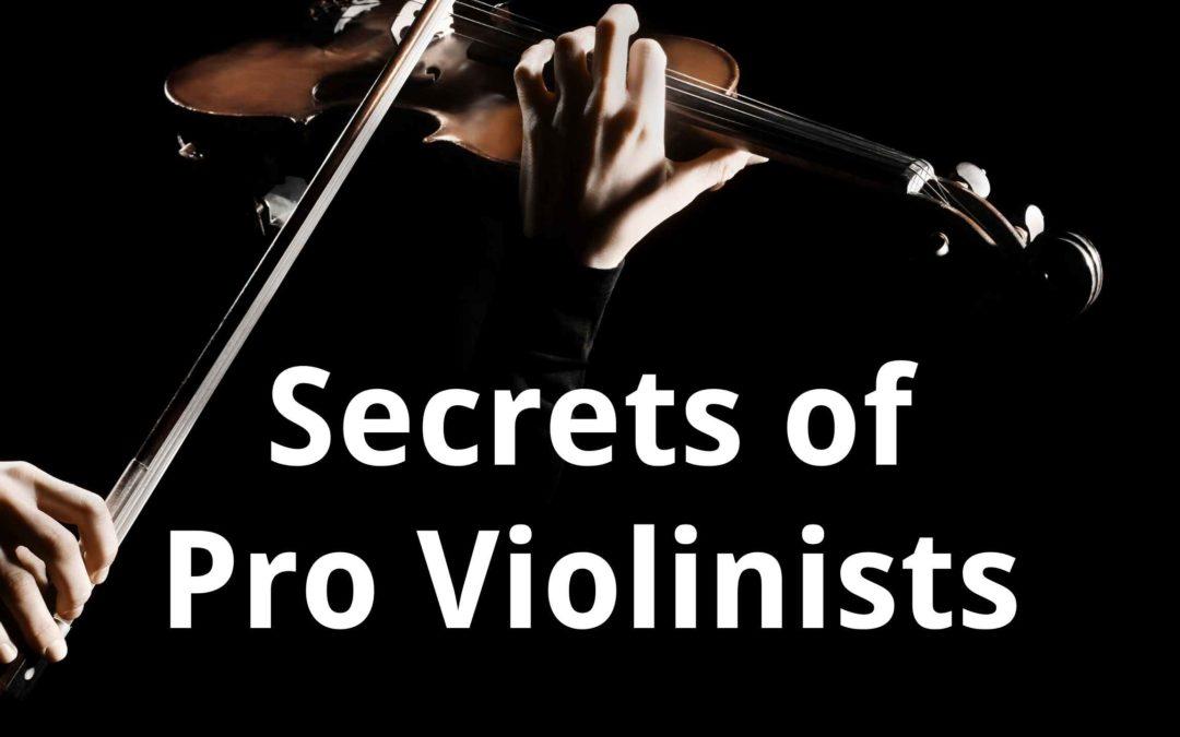 How to Sound like a PRO Violinist: the secret sauce! Violin Lounge TV #410