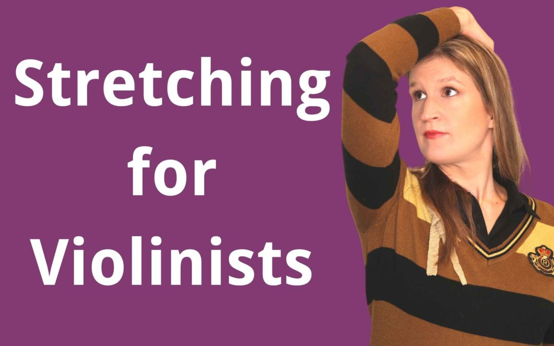 Neck Stretching and Strengthening Exercises for Violinists | Violin Lounge TV #406