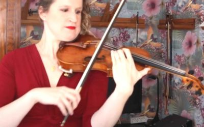 Sound Great in High Positions on the Violin E String | Violin Lounge TV #417