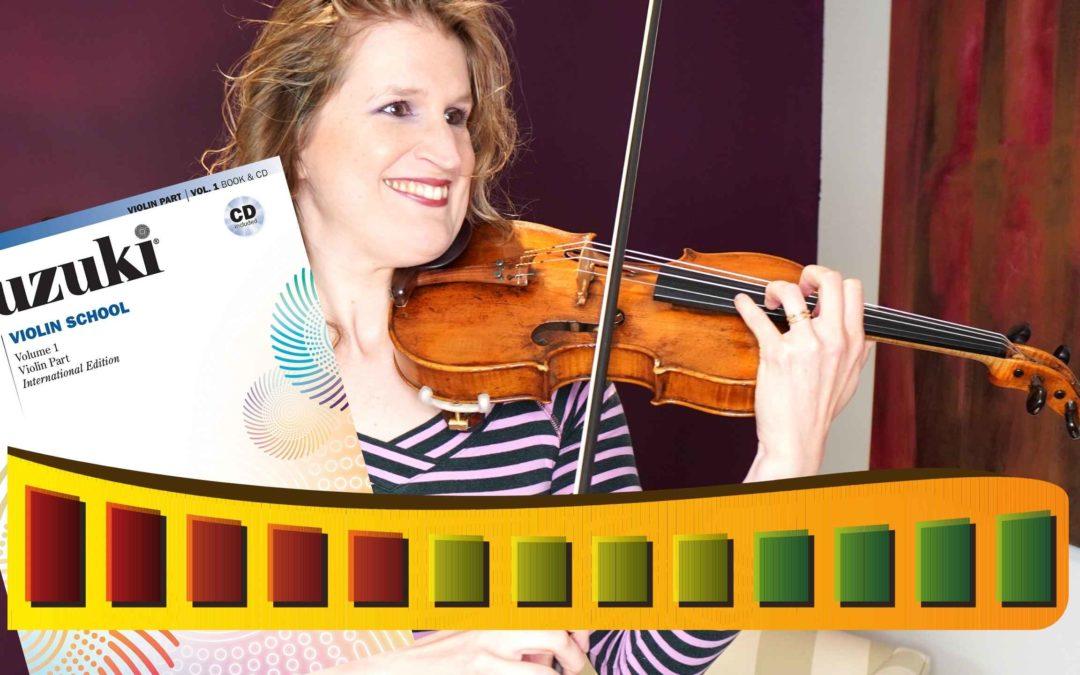 10 SUZUKI VIOLIN LEVELS (violinist plays through all books) | Violin Lounge TV #423