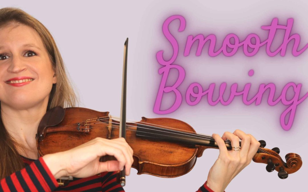 5 Steps to Apply SMOOTH BOWING to your Violin Repertoire | Violin Lounge TV #421