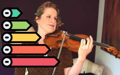 10 Levels of VIOLIN CONCERTOS | Violin Lounge TV #426