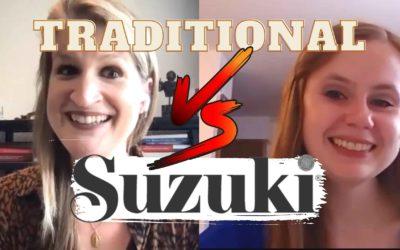 Suzuki Violin School vs Traditional Method with Meghan Faw | Violin Lounge TV #427
