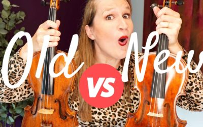 NEW vs OLD VIOLIN: What to look for when buying your next level violin? | Violin Lounge TV #431