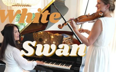 White Swan from SWAN LAKE Ballet by Tschaikovsky (violin and piano)