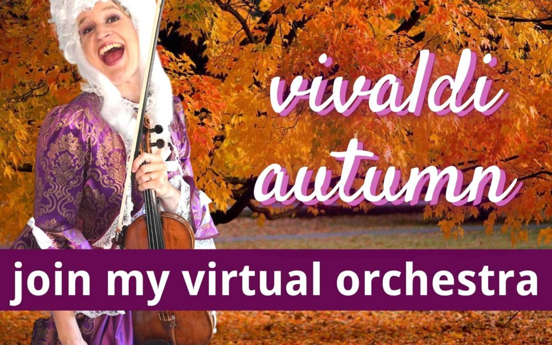 Let's play Vivaldi's Four Seasons Autumn together | Virtual Orchestra